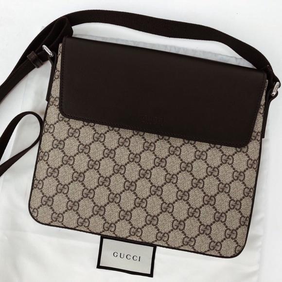 a4ceb36d12f88f Gucci Bags | Eden Gg Supreme Messenger Bag | Poshmark